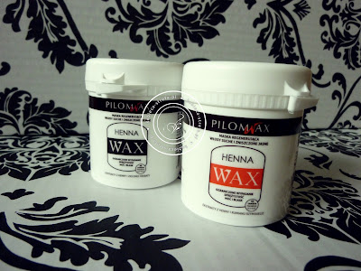 Pilomax - WAX HENNA - maska regenerująca włosy suche i zniszczone - ograniczone wypadanie, sprężystość, moc i blask