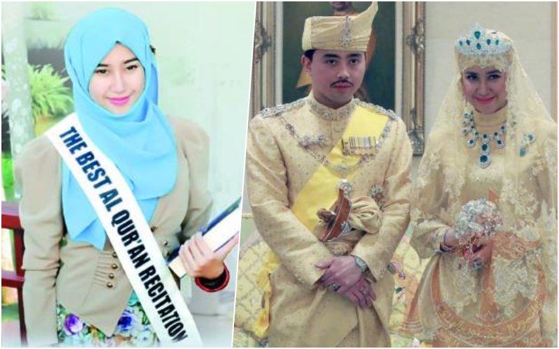 Isteri Pengiran Muda Brunei Prince Abdul Malik Qari Al Quran Terbaik Dunia