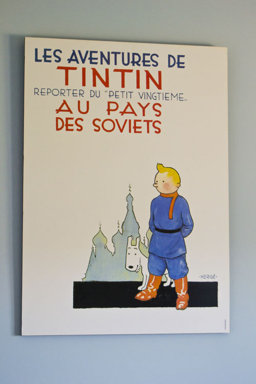 Tintin Milu Lamina Cuadro