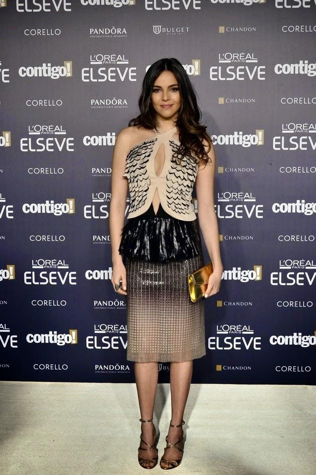 A atriz esteve no 16º Prêmio Contigo! de televisão, na noite de segunda-feira, 28,no hotel Copacabana Palace, no Rio