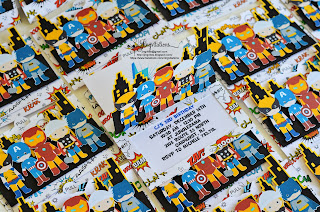 avengers invitations, superhero invitations