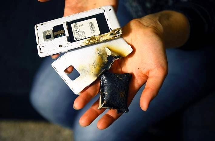 حل جديد لإنهاء حوادث انفجار بطاريات الهواتف الذكية !