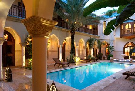 Tourisme du maroc riad piscine marrakech for Riad marrakech piscine chauffee