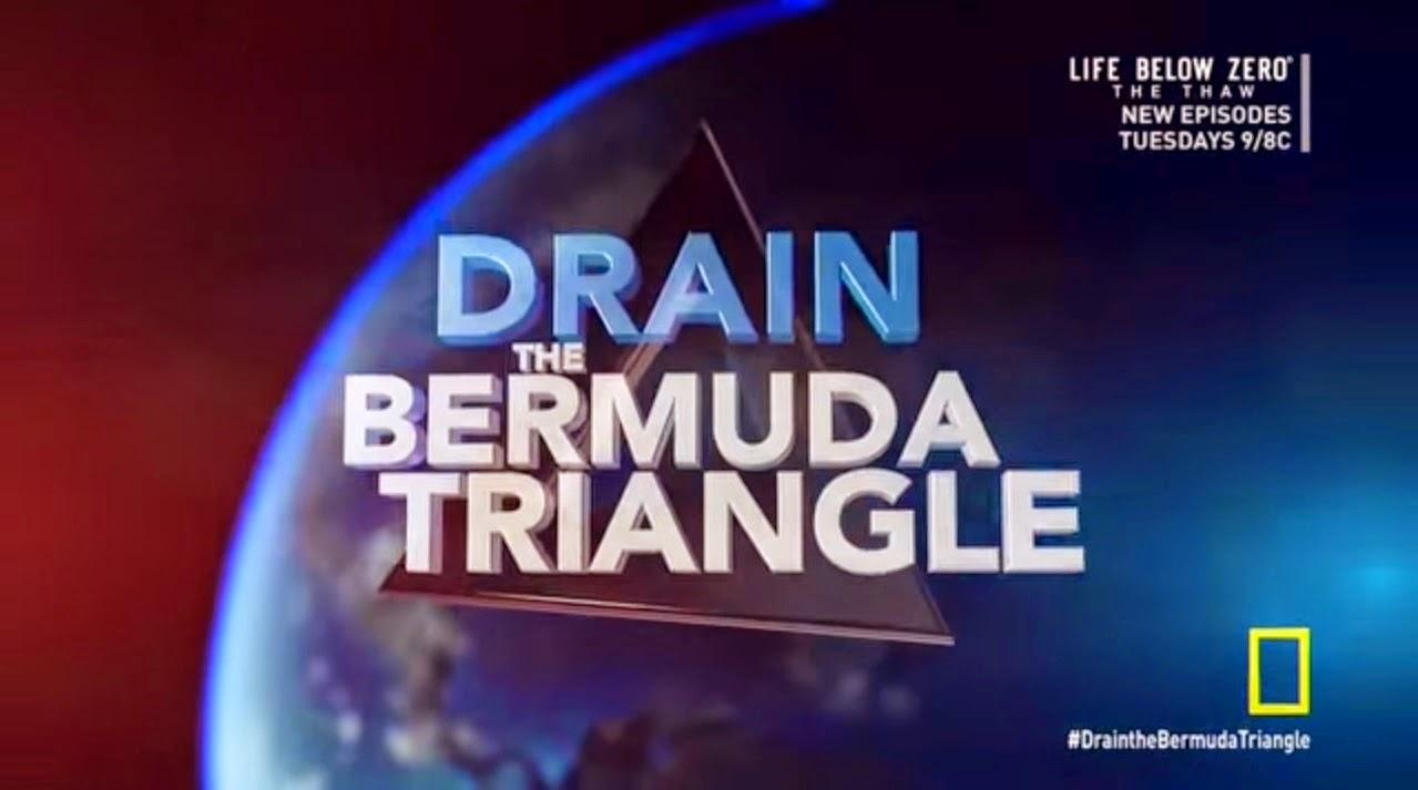 Gambar Keadaan Segitiga Bermuda Setelah Kering
