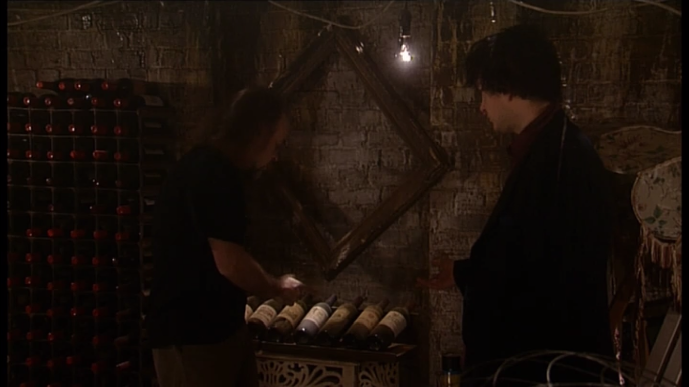 Black Books dylan moran bill bailey wine grapes of wrath