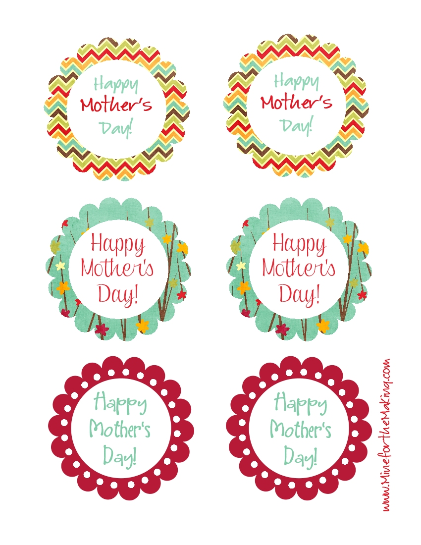 Mother's Day Tags {printable} - Mine for the Making