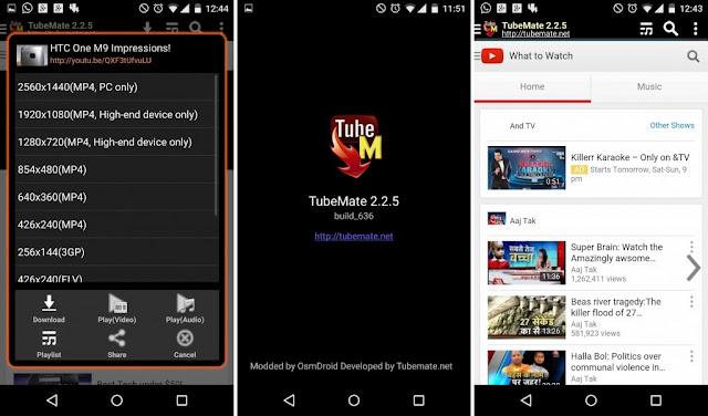 TubeMate 2 Apk v2.2.6 Build 646 - Sin anuncios