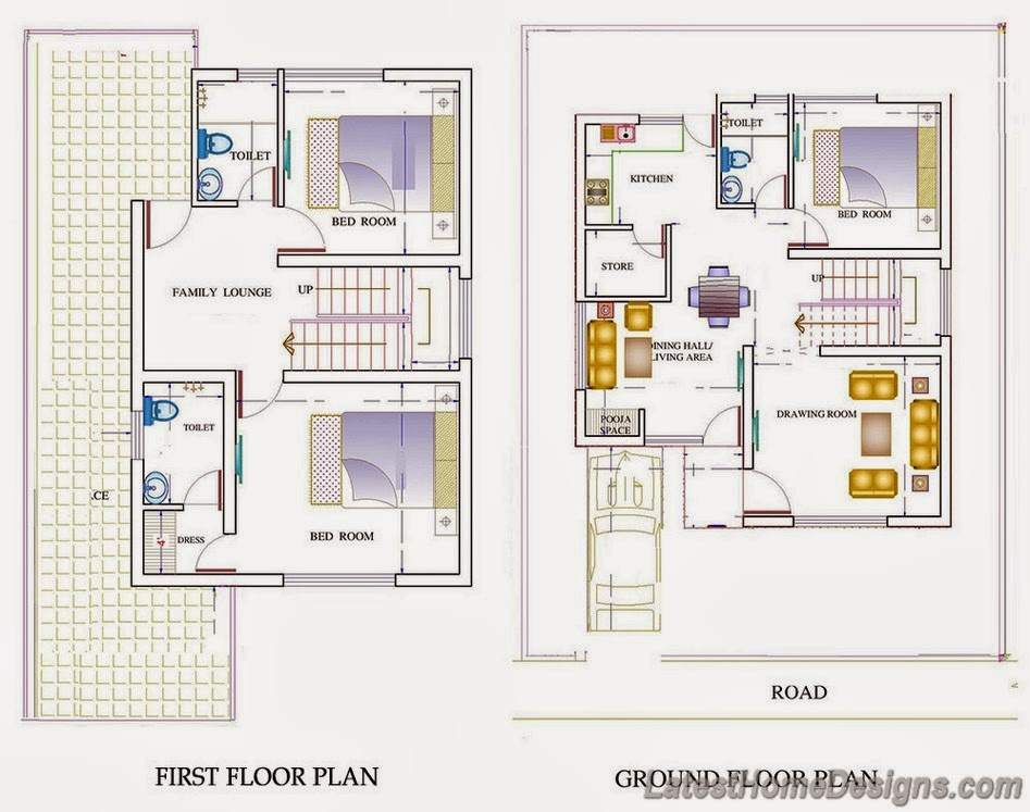 Awesome simple duplex house plans 18 pictures home 5 bhk duplex floor plan