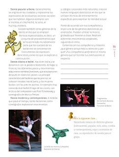 Apoyo Primaria Educación Artística 5to grado Bloque I lección 3 Todas las danzas