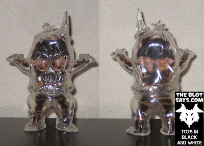 &#8220;X-Ray&#8221; Clear with Skeleton Ugly Unicorns by Rampage Toys