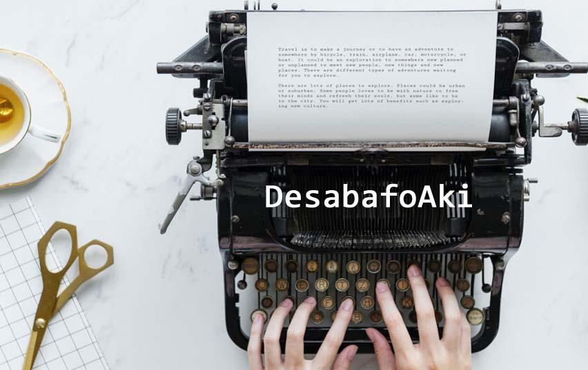 <center> Desabafo Aki </center>
