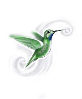Sid Hummingbird dövme tasarimi
