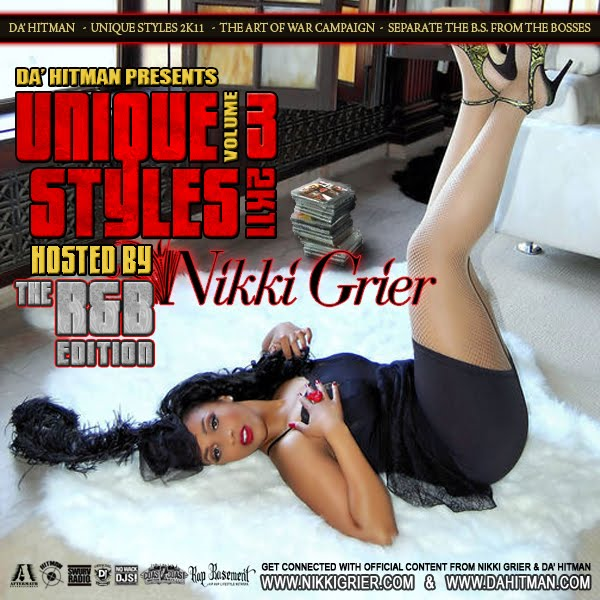 Da' Hitman - Unique Styles 2K11 Vol 3