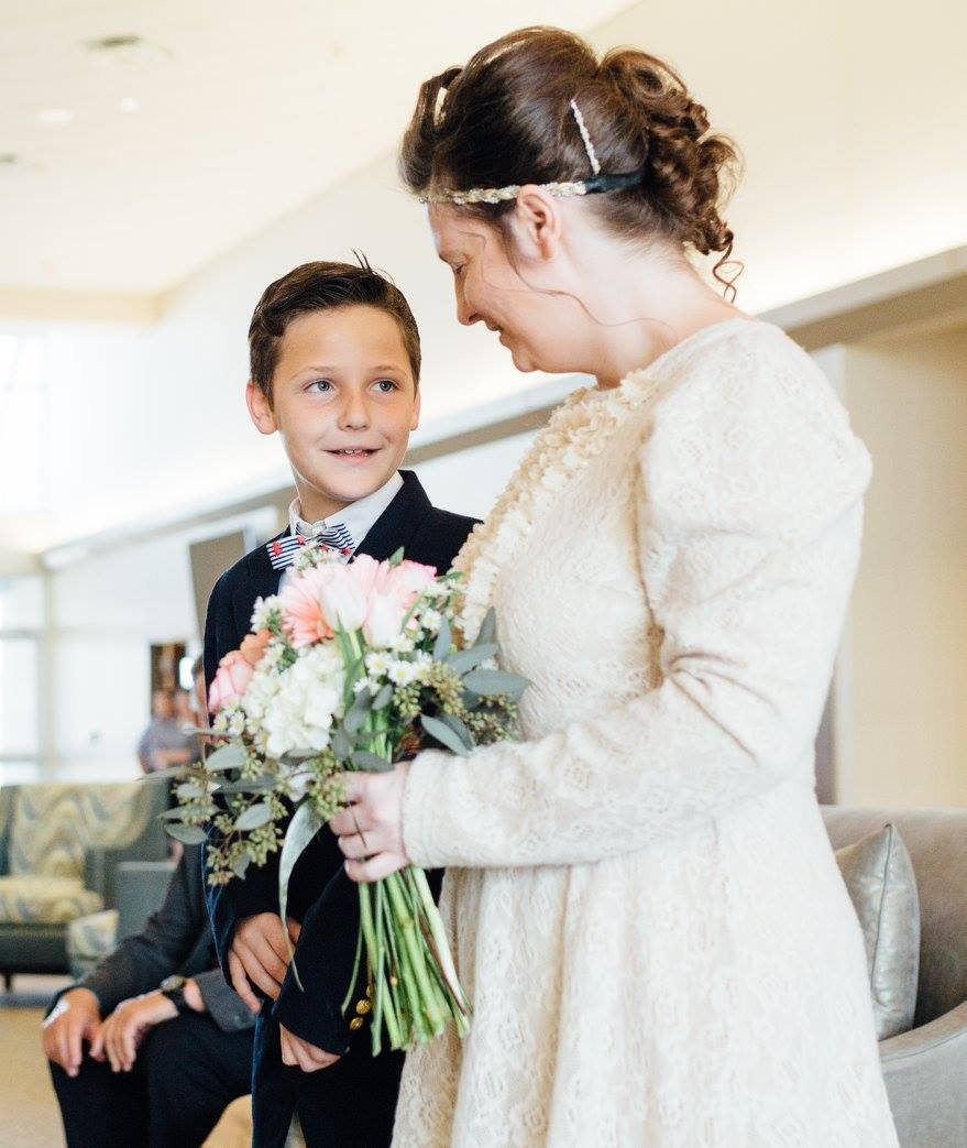 Mom and David - March 2017