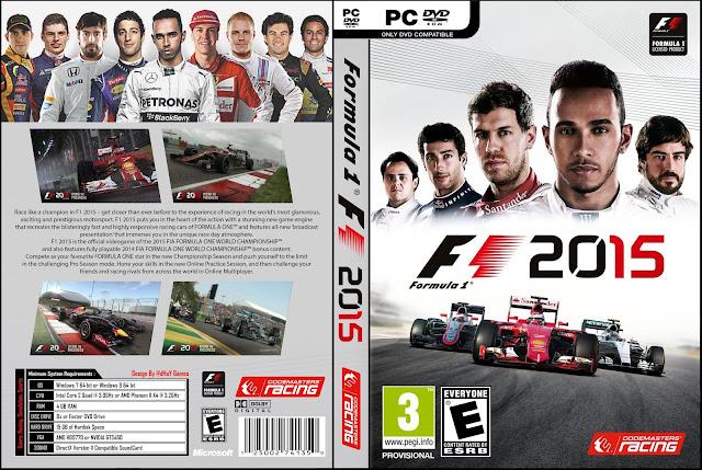 Capa F1 Formula 1 2015 PC