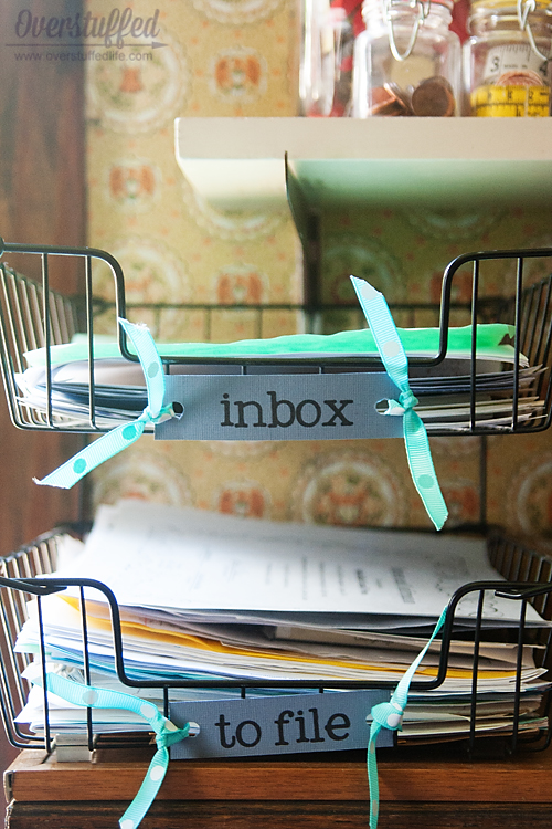 How to Stop the Paper Trail   School Papers   Clean Mama Pinterest