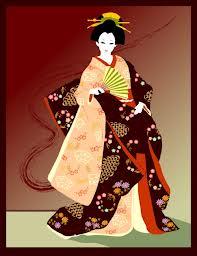 Japon Yöresel Kıyafetli Kız Oyunu