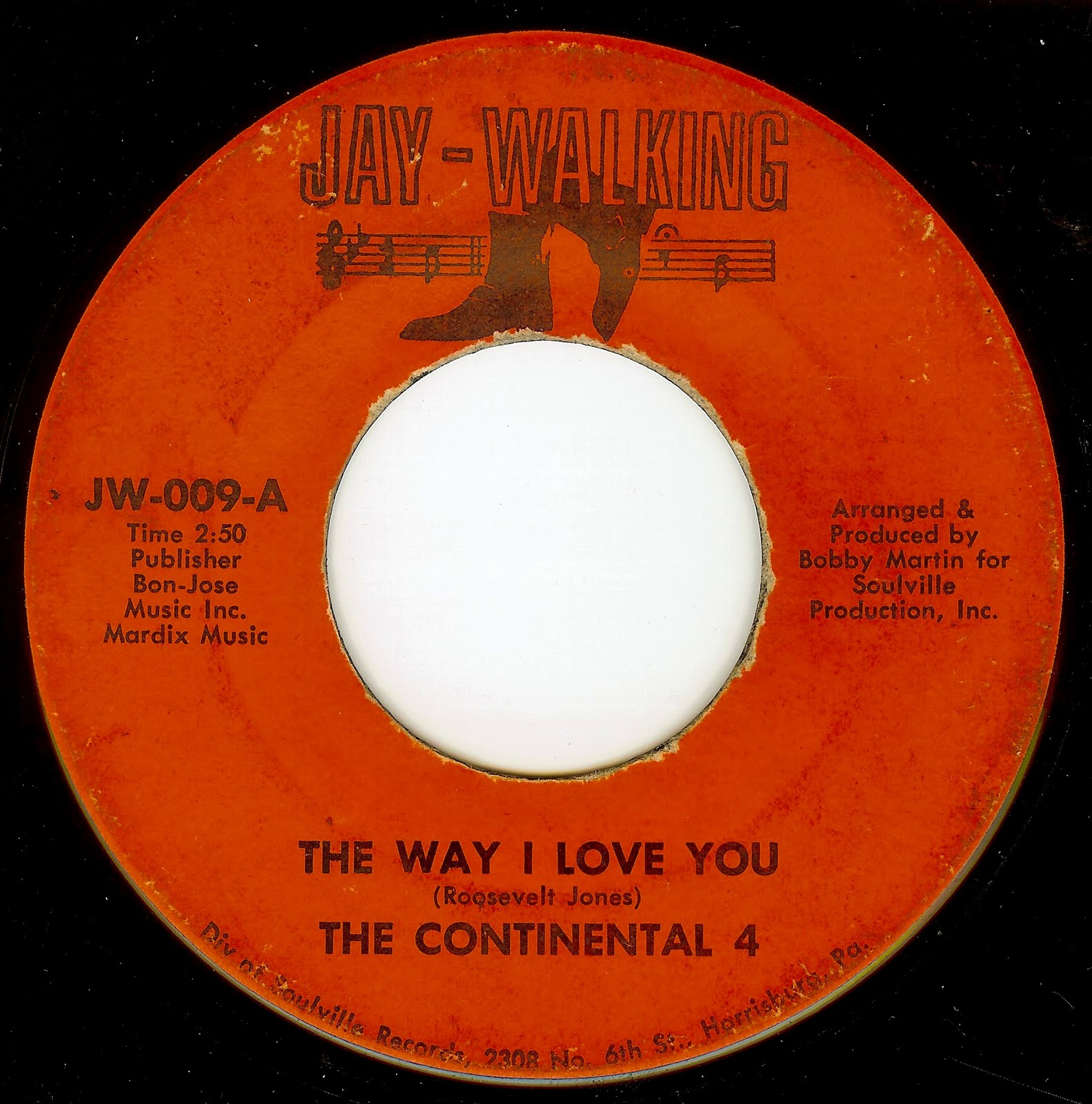 Continental 4 The Love You Gave To Me