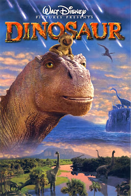 Poster Of Dinosaur (2000) In Hindi English Dual Audio 300MB Compressed Small Size Pc Movie Free Download Only At worldfree4u.com