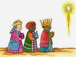 Dibujos de los Reyes Magos  Dibujos para Nios