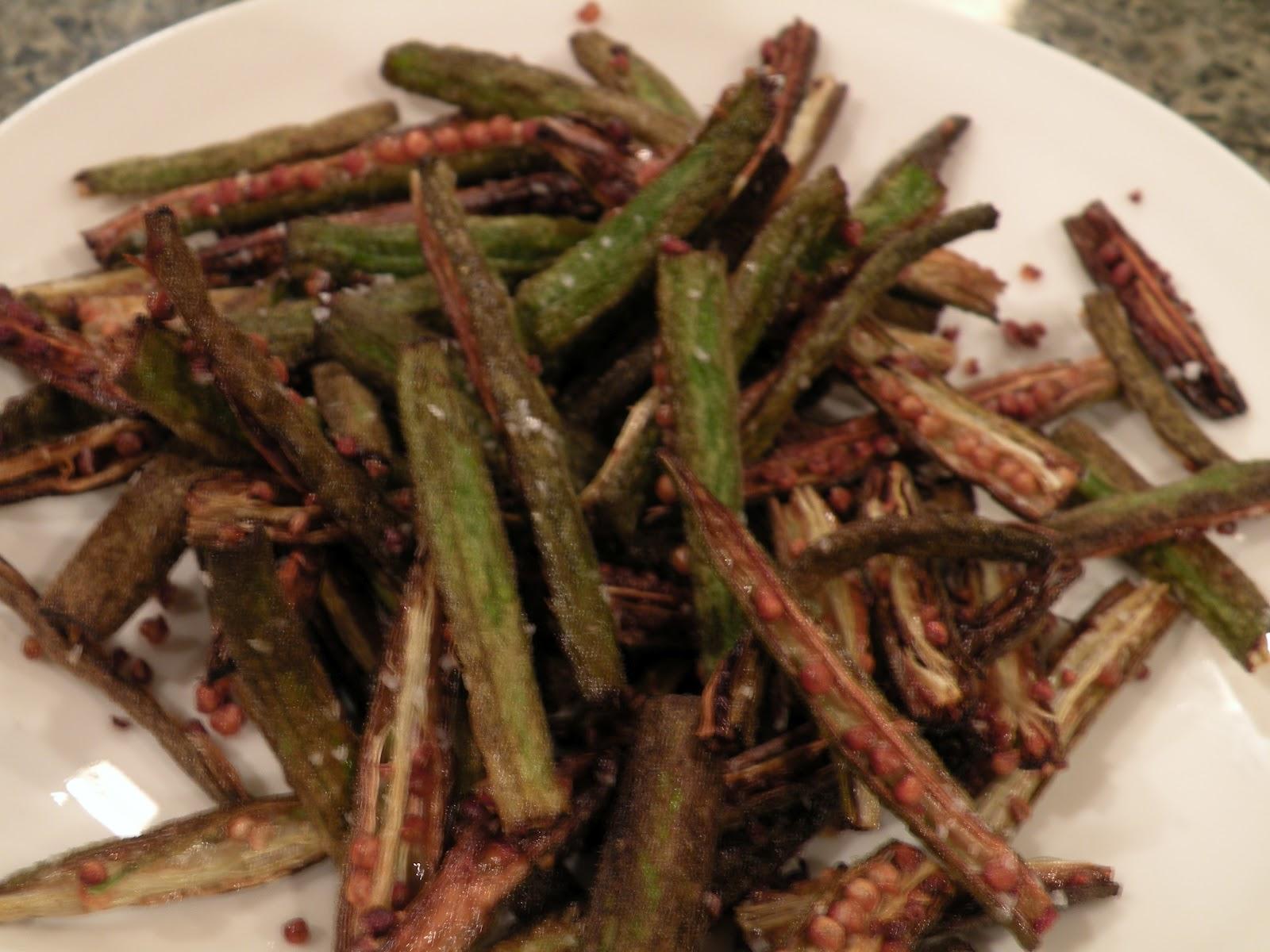 Casa Wayward: Okra Fries