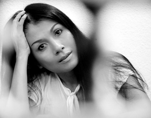La styliste Minh Hanh