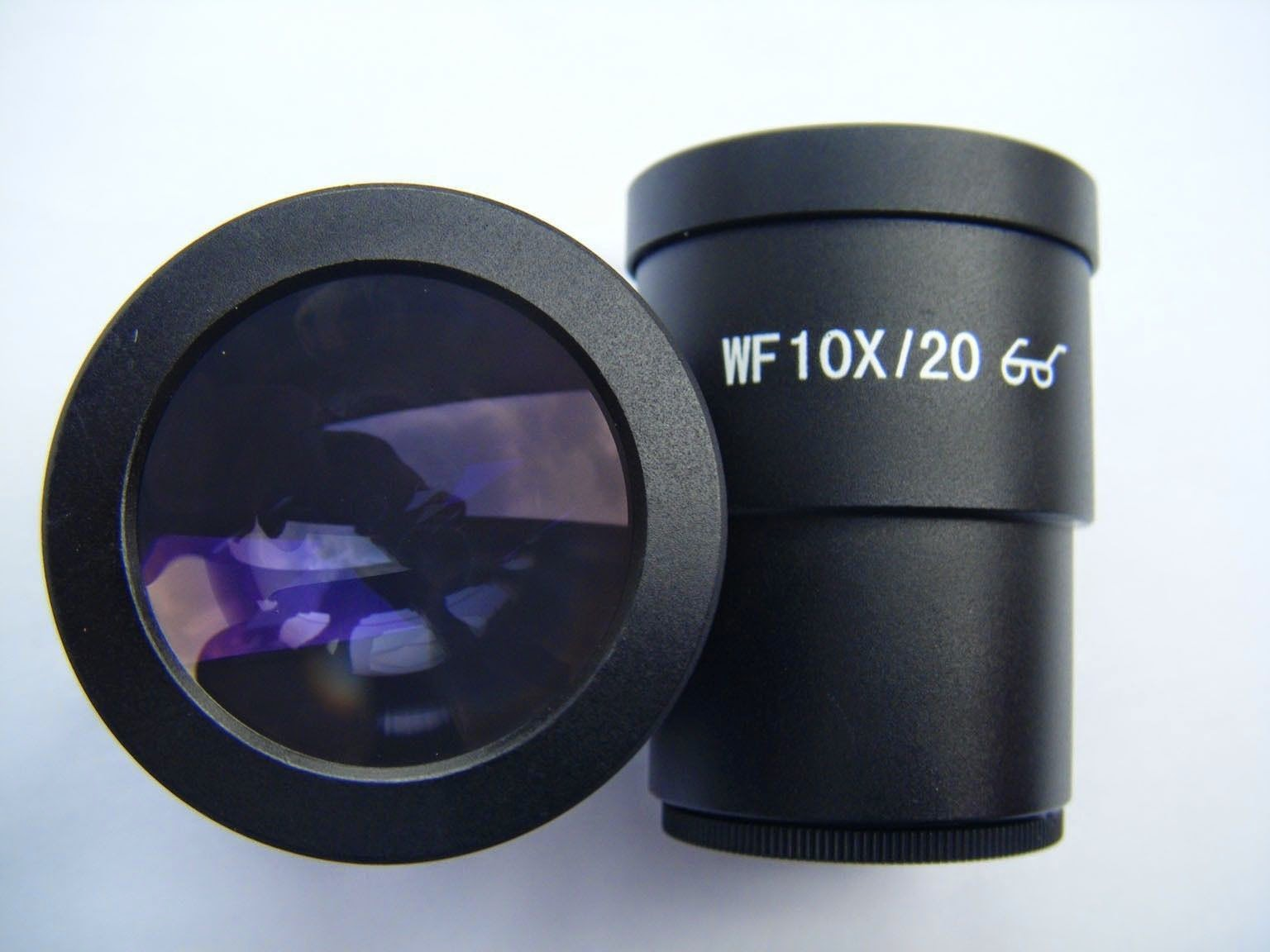 PAIR OF SUPER WIDEFIELD WF 10X/20 EYEPIECE (30MM) FOR STEREO MICROSCOPE