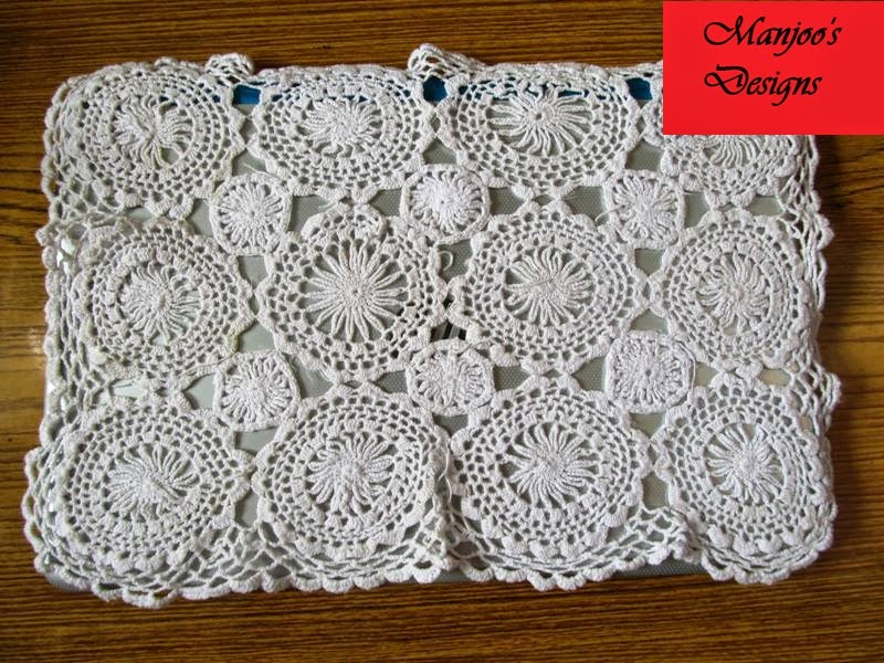 Crochet Patterns India : crochet as a laptop cover crochet patterns image crochet table cloth ...