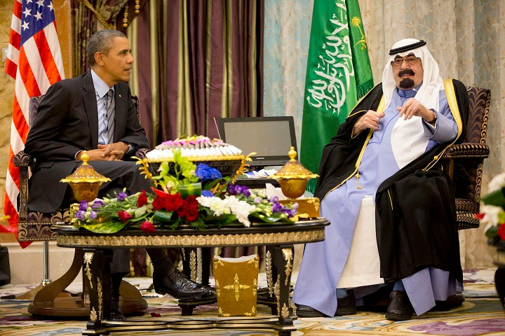 After Saudi king's death : Obama cancels end of India visit