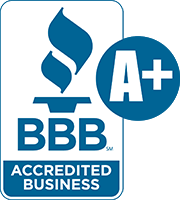 Proud Member of the BBB with an A+ Rating