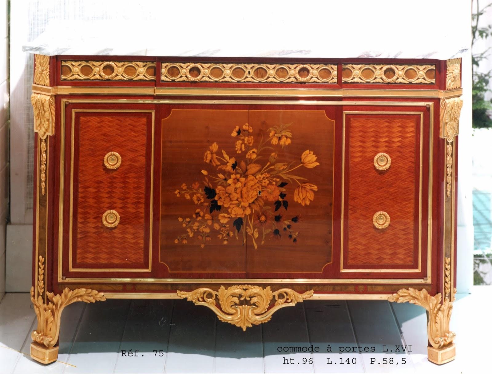 ebenisterie d 39 art ren daid meubles de style louis xvi. Black Bedroom Furniture Sets. Home Design Ideas