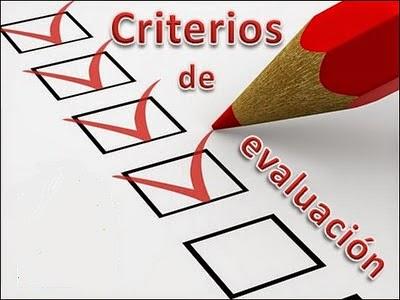 Criterios generales de centro de evaluación y calificación