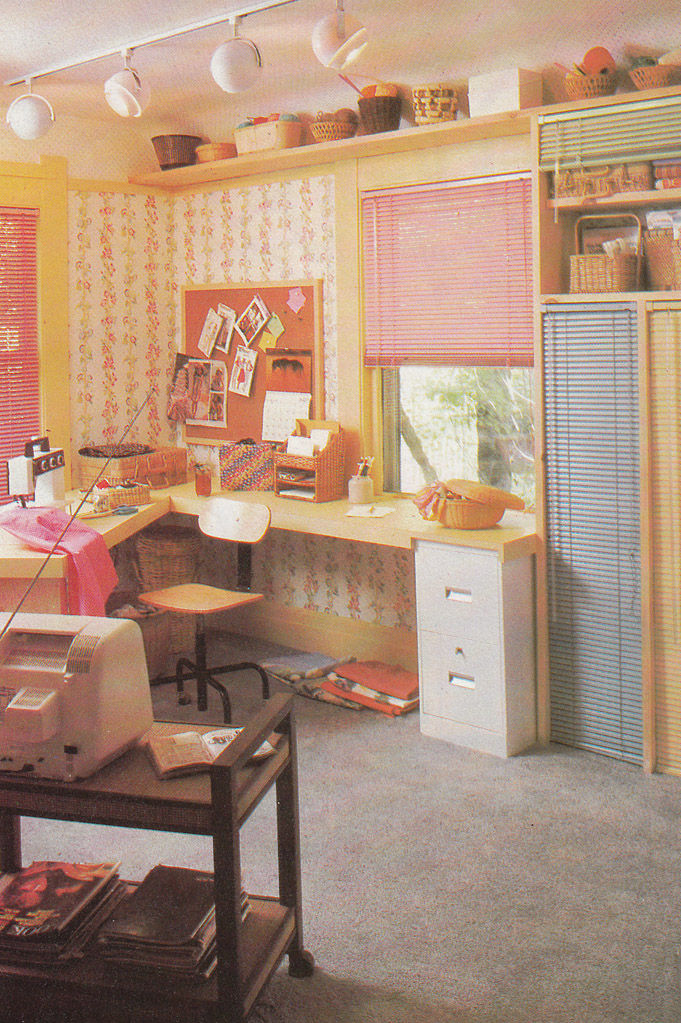 Vintage goodness 1 0 vintage 80 39 s home decorating trends for 70 s room design
