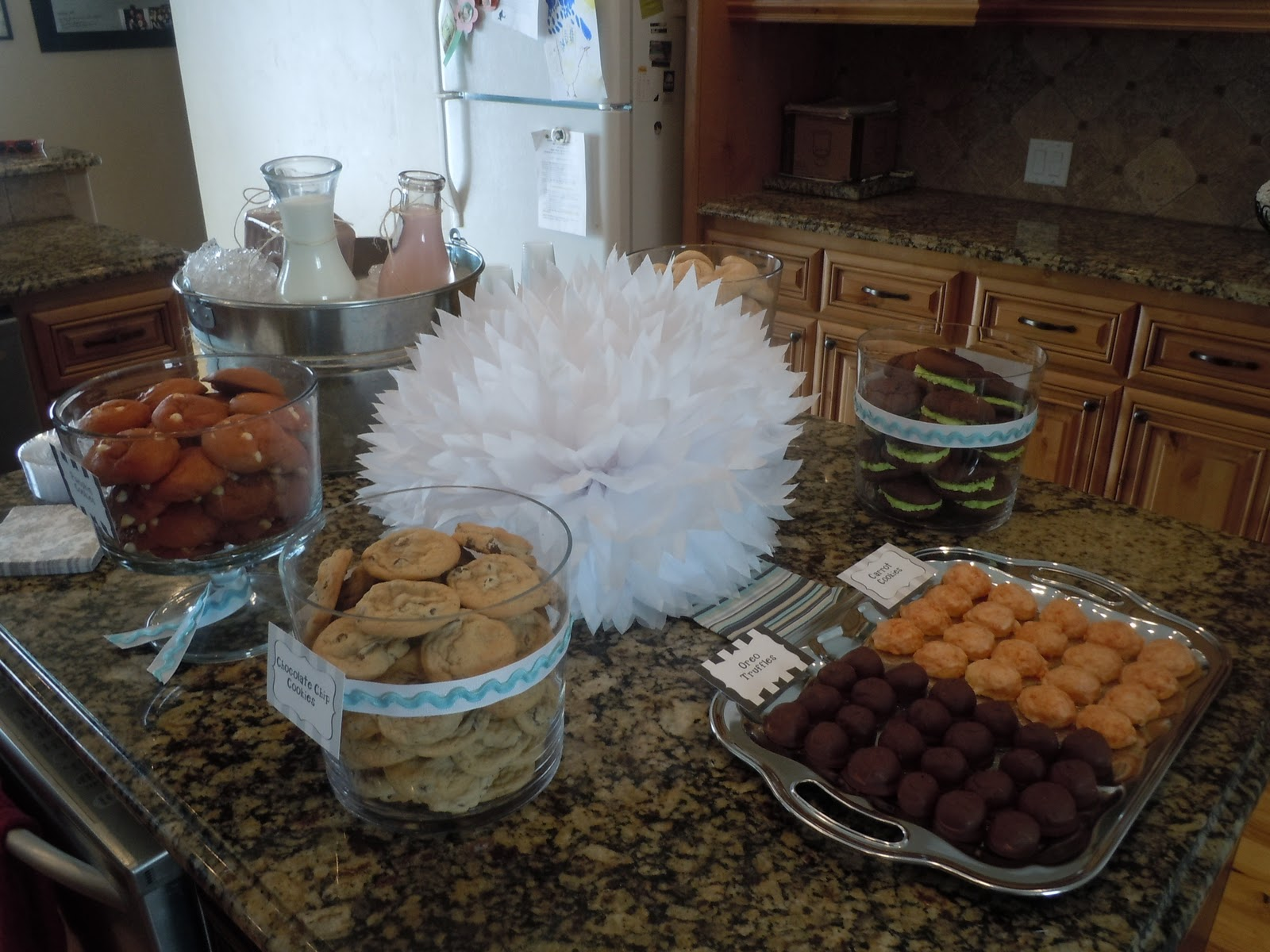 ALL THINGS DELICIOUS Milk & Cookies Baby Shower