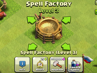 clash of clans spell factory - photo #15