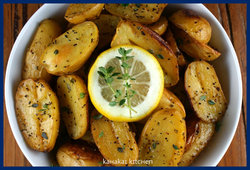 Kahakai Kitchen: Roast Lemon Potatoes (Patates Fournou Lemonates): A ...