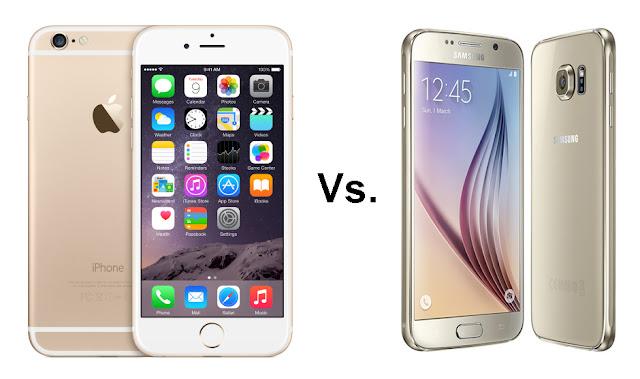 هاكذا, تمكن, جهاز, SAMSUNG S6, من التفوق, على, جهاز, I PHONE 6S