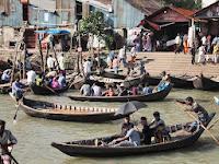 River boats - Sadarghat River Port, Dhaka