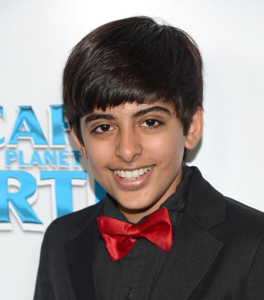 Karan Brar na premiere de Scape the planet EarthKaran Brar 2013