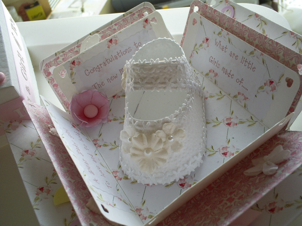 Baby Girl Shoes Christening Cake Pictures