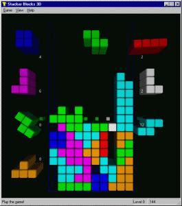 tetris 2d