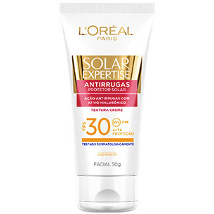 protetor Solar Expertise Facial Antirrugas FPS-30 L'Oréal
