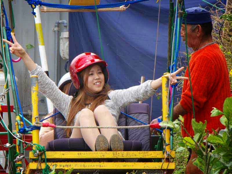 bungee ride, okinawa, HWY 58