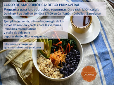 DETOX PRIMAVERAL. PROGRAMA PARA LA DEPURACIÓN, REGENERACIÓN Y NUTRICIÓN CELULAR