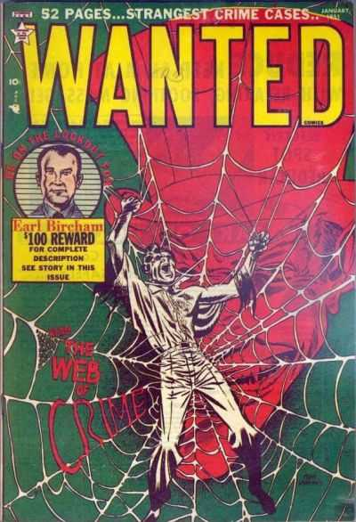 Wanted 33 cover--The Web of Crime