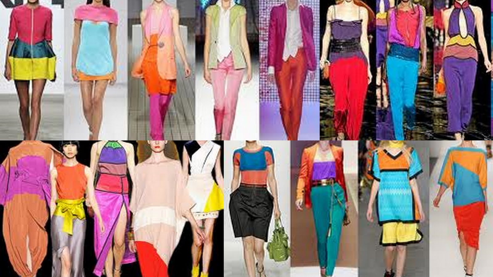 color block fashion