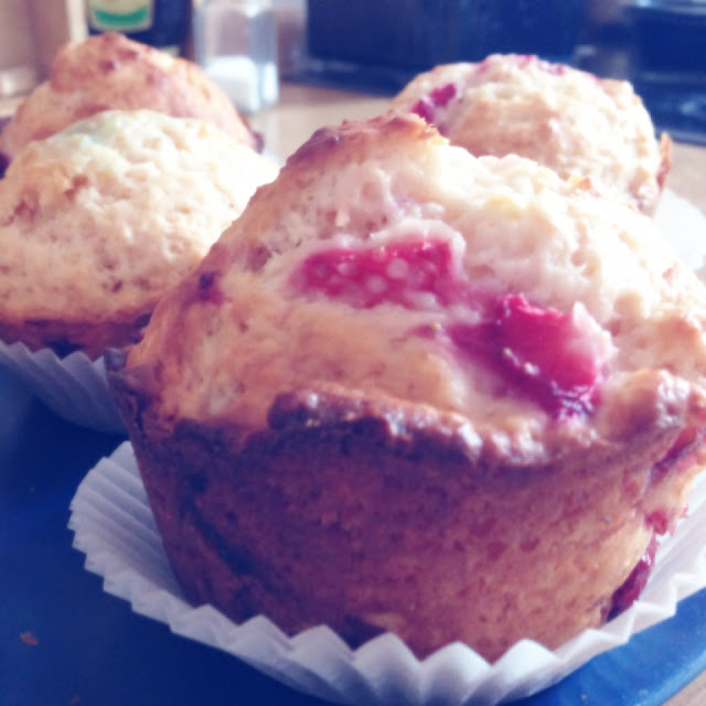 Fräulein Bergers Erdbeer-Muffins