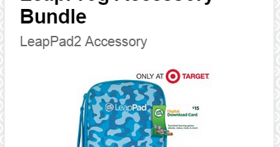 Extreme Couponing Mommy CHEAP LeapFrog Accessory Bundle At Target