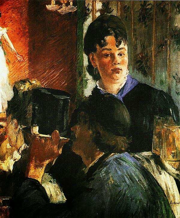 Эдуар Мане. Подавальщица пива. 1878 — 1879.