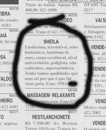 prostitutas brasil anuncios prostitutas a domicilio
